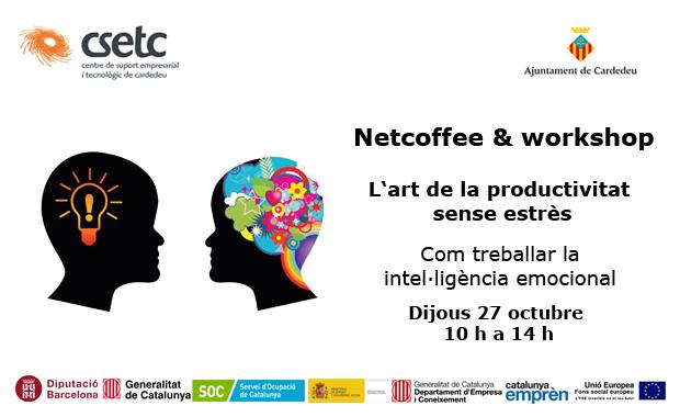 31 marzo 2016. Ven al Netcofee & workshop al CSETC